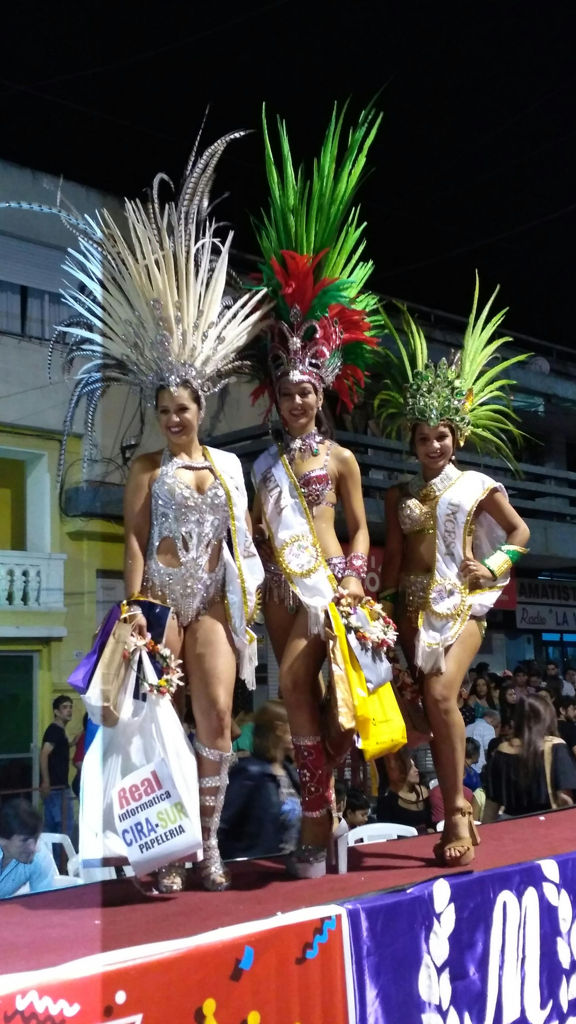 Reina del Carnaval de Artigas 2017