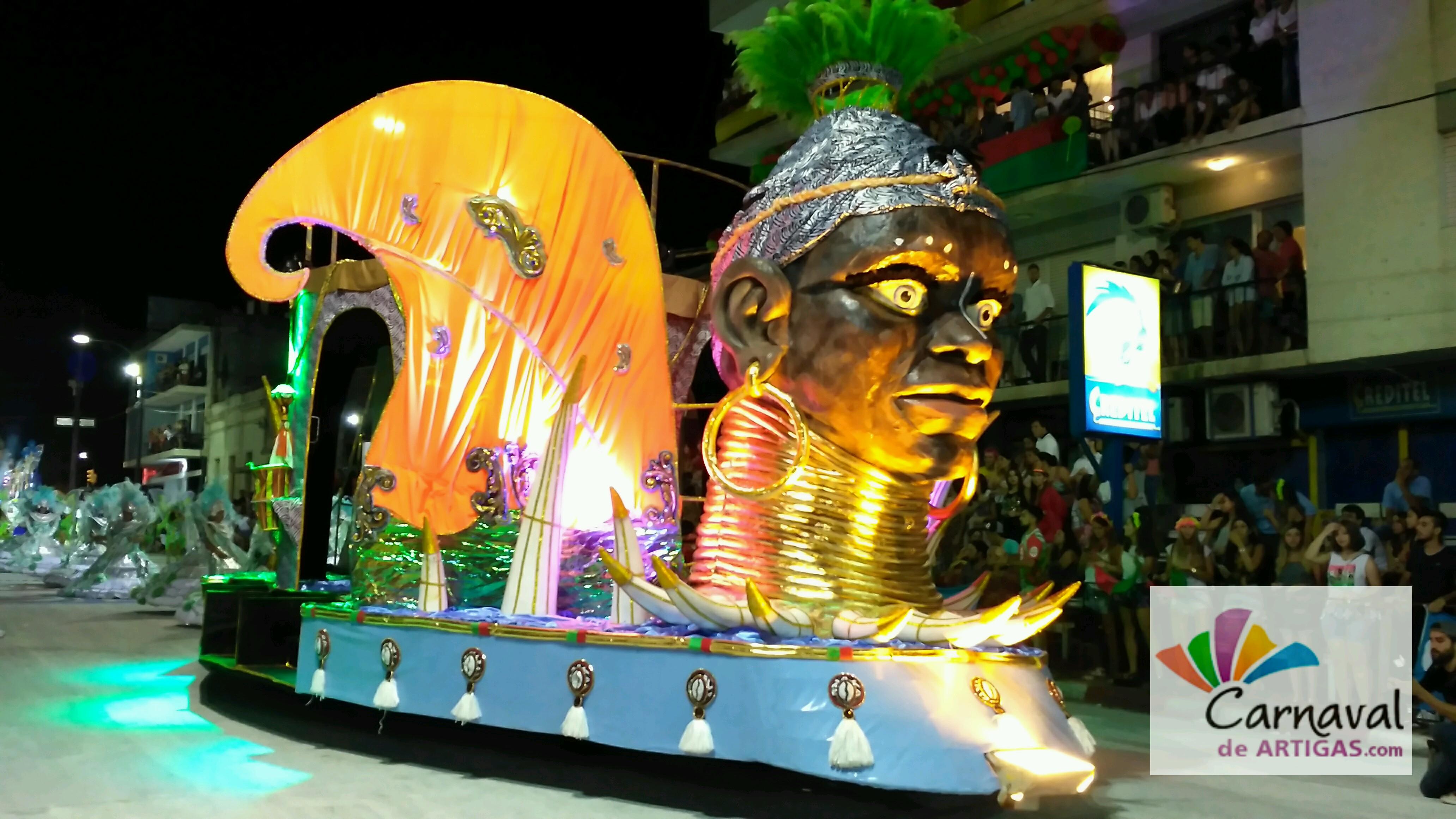 Escuela de Samba Barrio Rampla es la Ganadora del Carnaval de Artigas 2017
