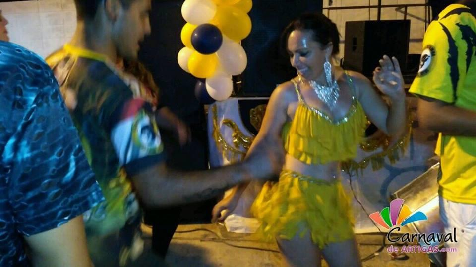 Presentación del Samba Enredo 2018 de Imperio del Ayuí