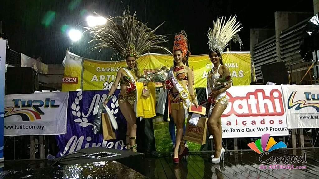 Reina del Carnaval de Artigas 2018