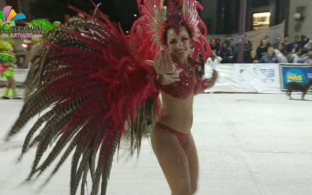 Escuela de Samba Barrio Rampla ganadora del Carnaval de Artigas 2018