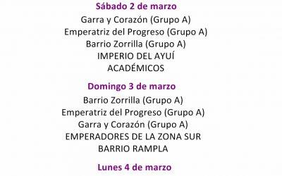 Orden de los Desfiles del Carnaval de Artigas 2019